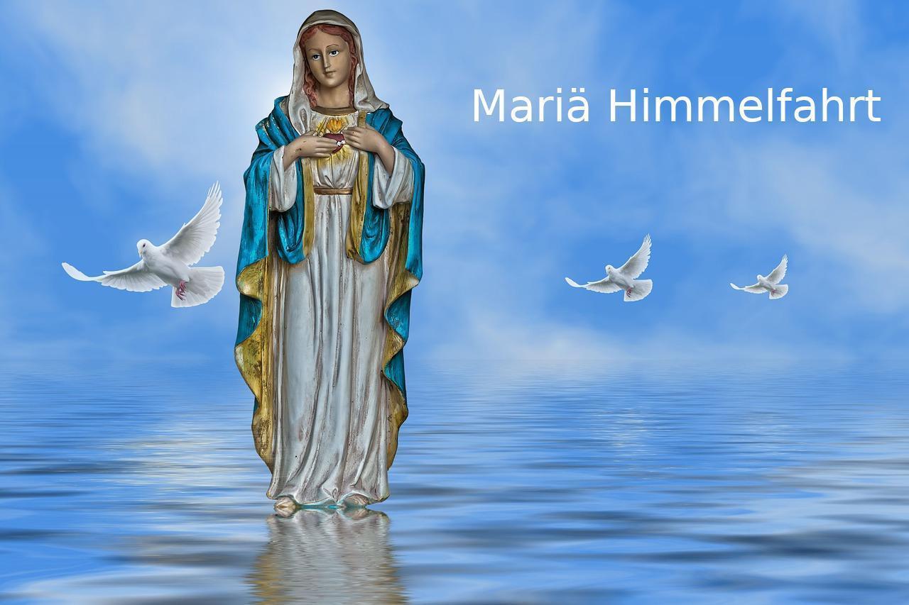 Mariä Himmelfahrt 2019 Datum - Vollendung Mariens