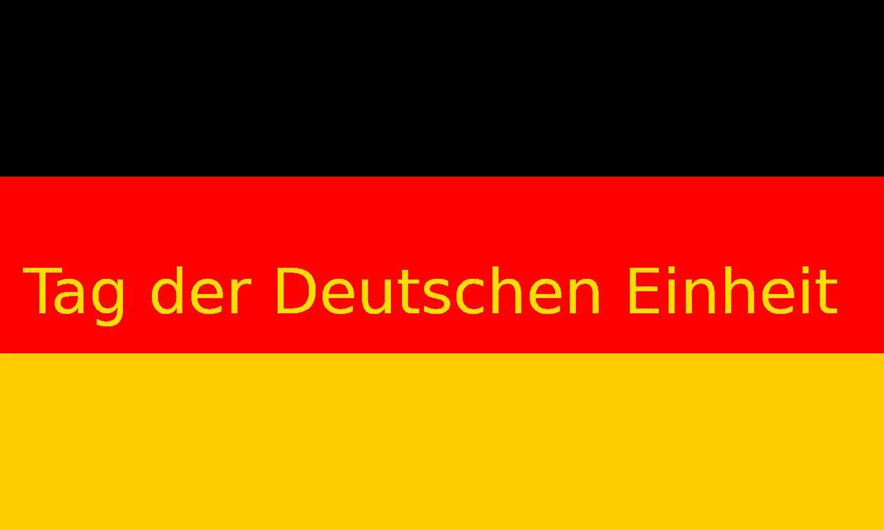 Tag der Deutschen Einheit 2018 Datum - Deutscher Nationalfeiertag